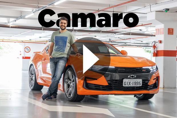 Vídeo: Chevrolet Camaro (Foto: Marcos Camargo / Autoesporte)