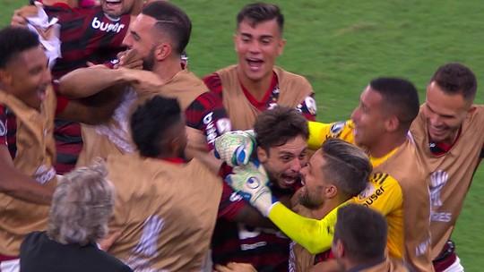 Veja os gols da vitória do Flamengo que valeu vaga na final da Libertadores
