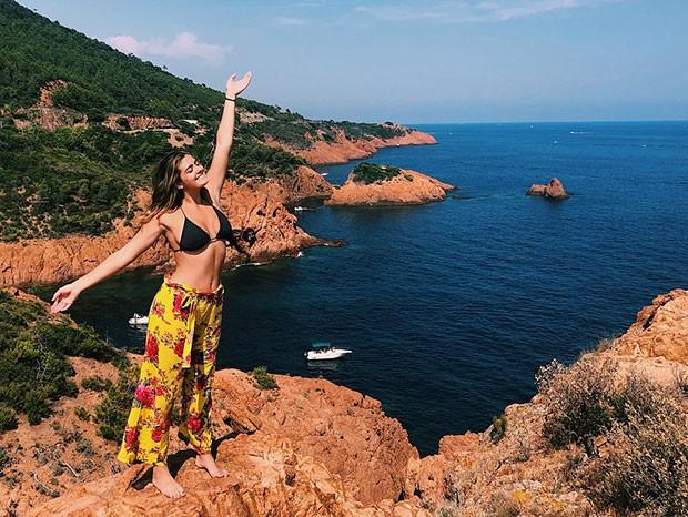 Luma Mickely na França (Foto: Reprodução/Instagram)