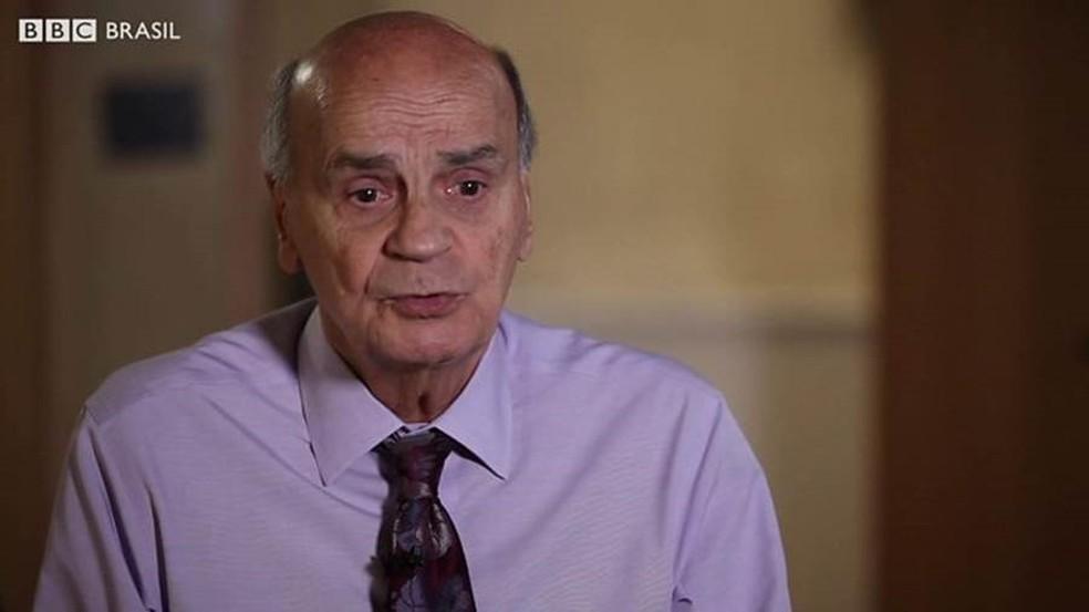 Drauzio Varella em entrevista para a BBC Brasil no Reino Unido (Foto: Elisa Kriezis/BBC Brasil)