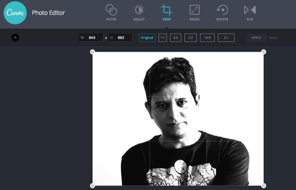 458286859b ... Tutorial mostra como usar o Canva Photo Editor para editar suas fotos  online — Foto:
