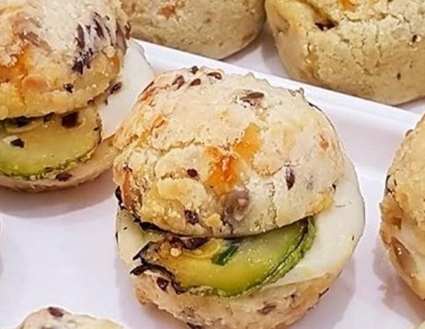 Pão de queijo Multi-grãos com abobrinha (Foto: Divulgação)