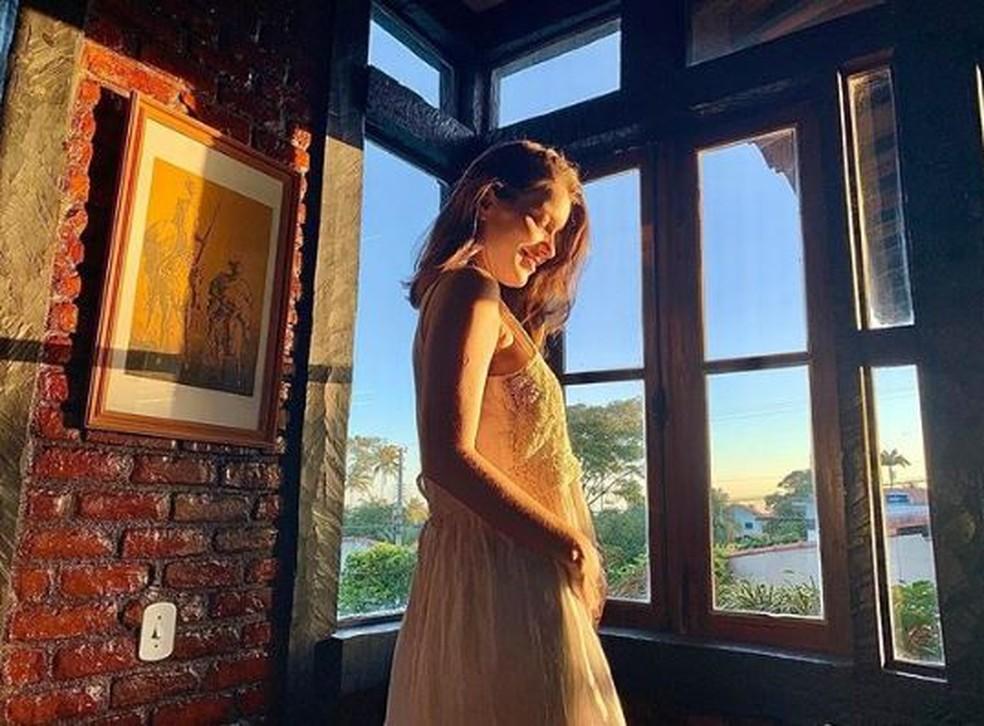 Nathalia Dill está grávida da primeira filha — Foto: TV Globo