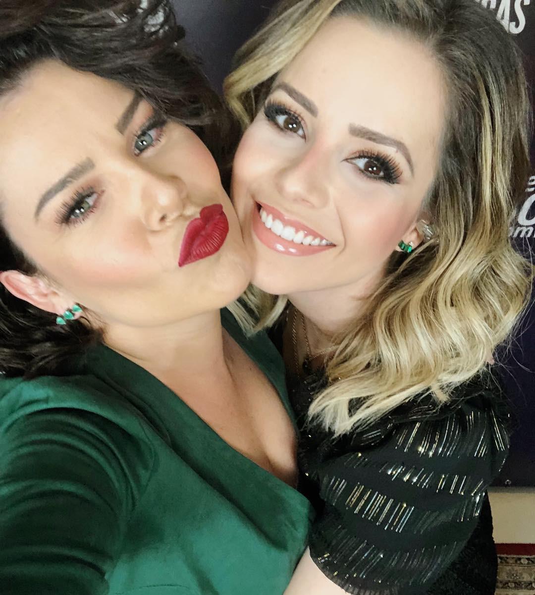Fernanda Souza e Sandy (Foto: Reprodução / Instagram)