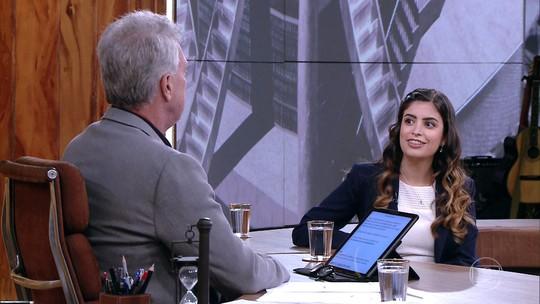 Pedro Bial reúne time de mulheres para discutir a renovação política do país
