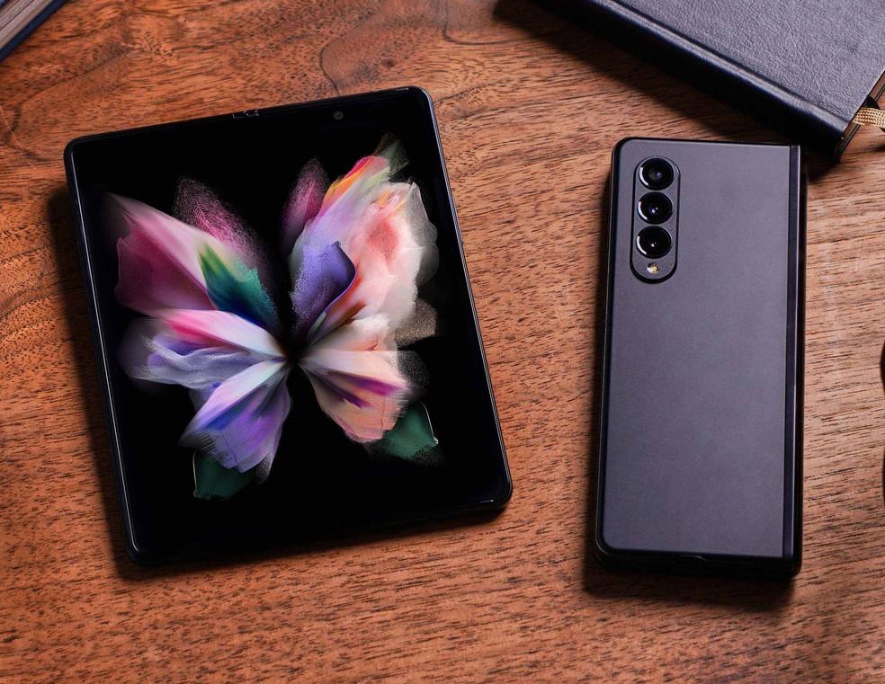 Galaxy Z Fold 3 — Foto: Divulgação/Samsung