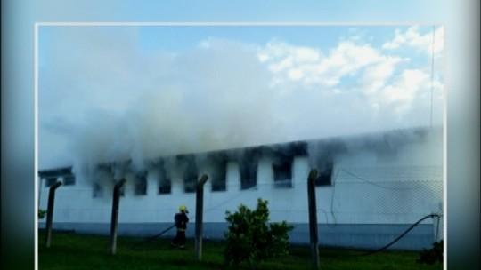 Incêndio atinge albergue do Presídio de Soledade