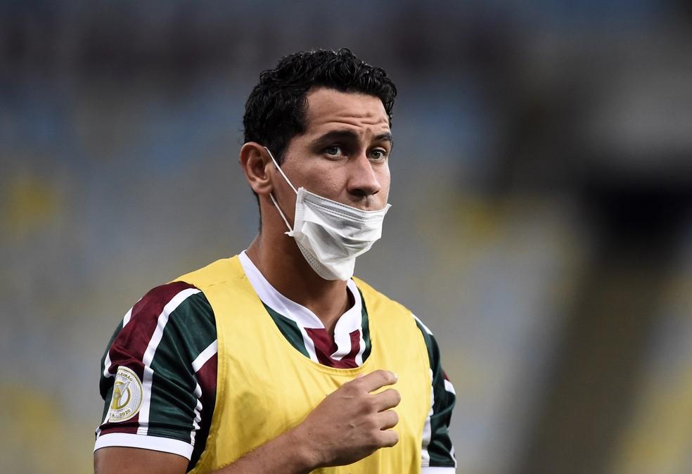 Ganso Fluminense x Vasco Maracanã — Foto: André Durão/ge