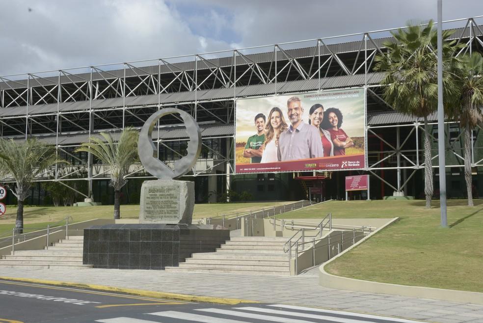 Centro Administrativo do Banco do Nordeste, em Fortaleza — Foto: BNB/Divulgação
