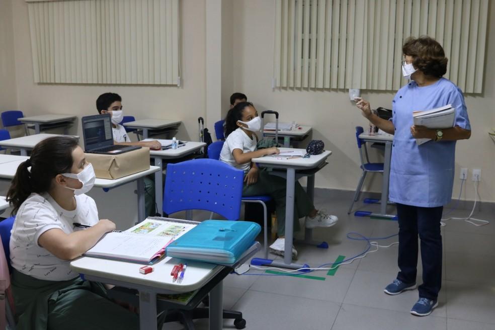 Professores apontam ensino híbrido como principal desafio no retorno das aulas em Manaus. — Foto: Divulgação