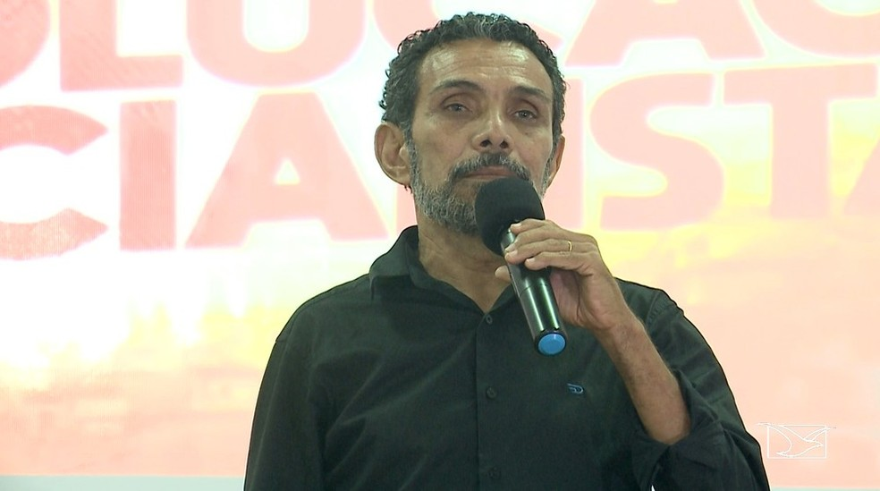 Ramon Zapata, candidato ao governo do Maranhão (Foto: Reprodução/ TV Mirante)