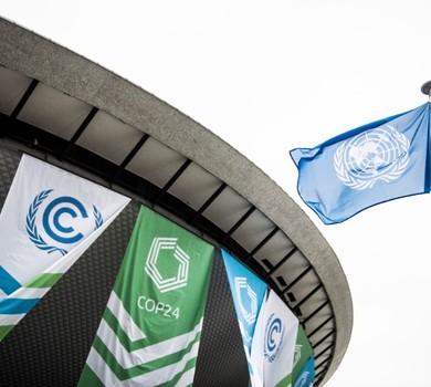 A Conferência das Nações Unidas sobre Mudanças Climáticas, COP24, acontece em Katowice, na Polônia (Foto: Reprodução/Twitter)