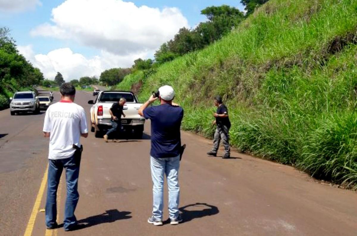 Polícia faz reconstituição da morte de empresário encontrado carbonizado em canavial