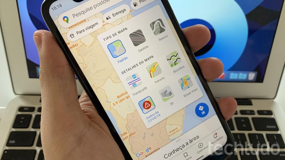 Saiba como ver informações sobre o coronavírus no Google Maps — Foto: Helito Beggiora/TechTudo