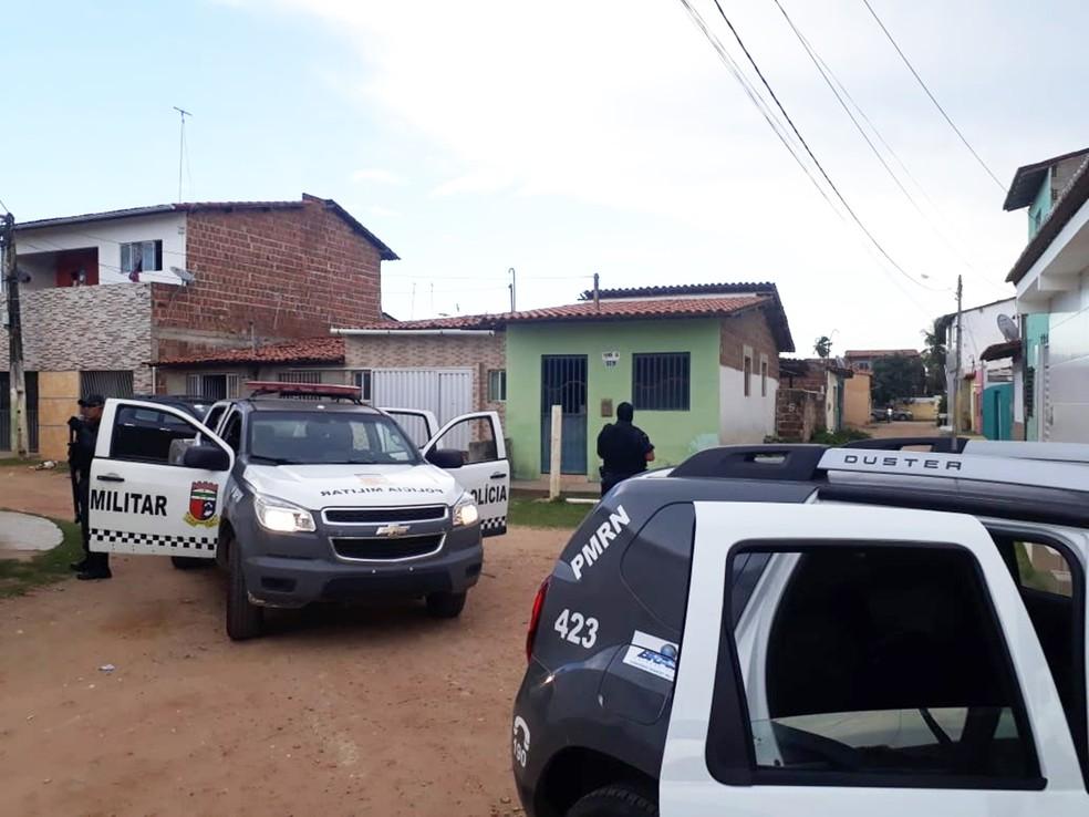 Policiamento ostensivo tem sido intensificado no início deste ano — Foto: PMRN/Divulgação
