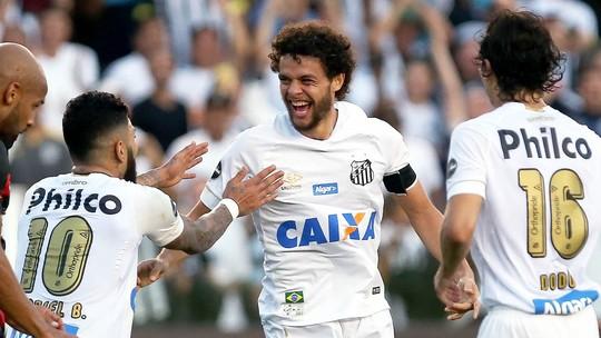 Gols de sábado: Santos e Grêmio vencem Sport e Corinthians