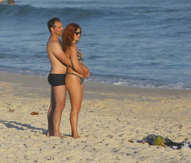 Mayana Neiva e Rich Torrisi (Foto: Fabio Martins/AgNews)