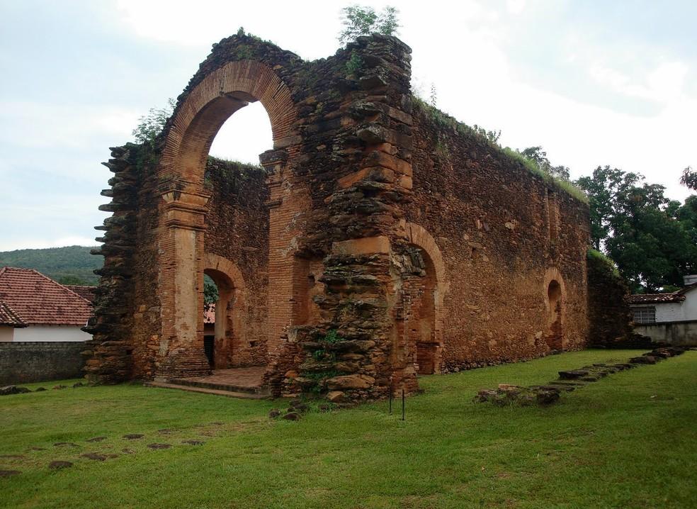Natividade é uma das cidades históricas do Tocantins — Foto: Prefeitura de Natividade/Divulgação