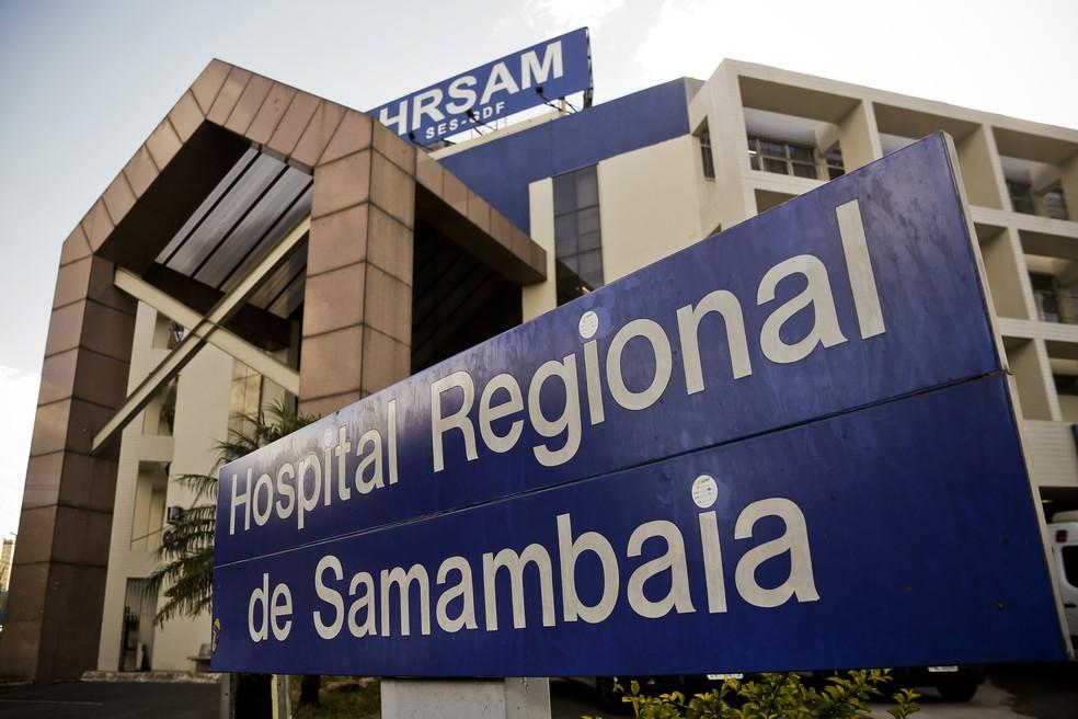 Hospital Regional de Samambaia, no Distrito Federal — Foto: Breno Esaki/ Agência Saúde