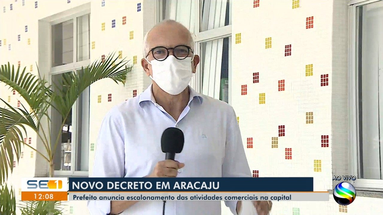 Prefeito Edvaldo Nogueira anuncia novo decreto