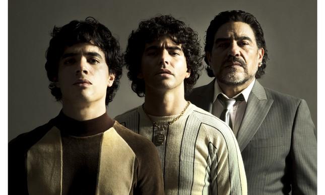 Nazareno Casero, Juan Palomino e Nicolas Goldschmidt interpretarão o craque Maradona em momentos distintos na série