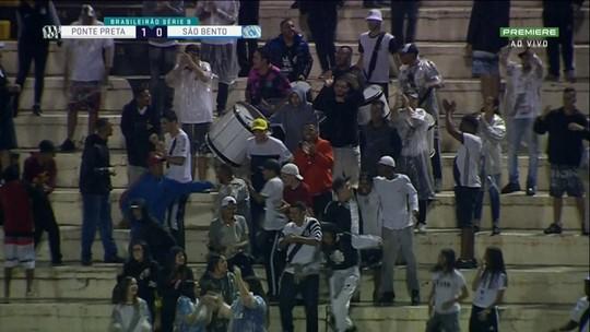 Ponte Preta 1 x 1 São Bento: veja os gols e melhores momentos