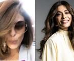 Juliana Paes mostra novo visual | Reprodução/Instagram e TV Globo/Divulgação