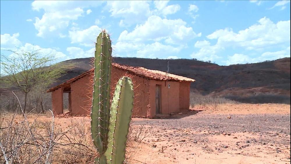 Ceará vive longo período de estiagem com sete anos seguidos de chuvas abaixo da média histórica — Foto: Reprodução/TV Globo