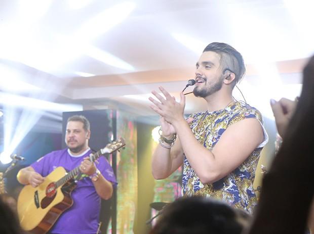 Luan Santana (Foto: Daniel Pinheiro/ AgNews )