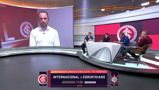 Rodrigo Caetano fala sobre chances de Guerrero jogar a volta da Copa do Brasil pelo Inter