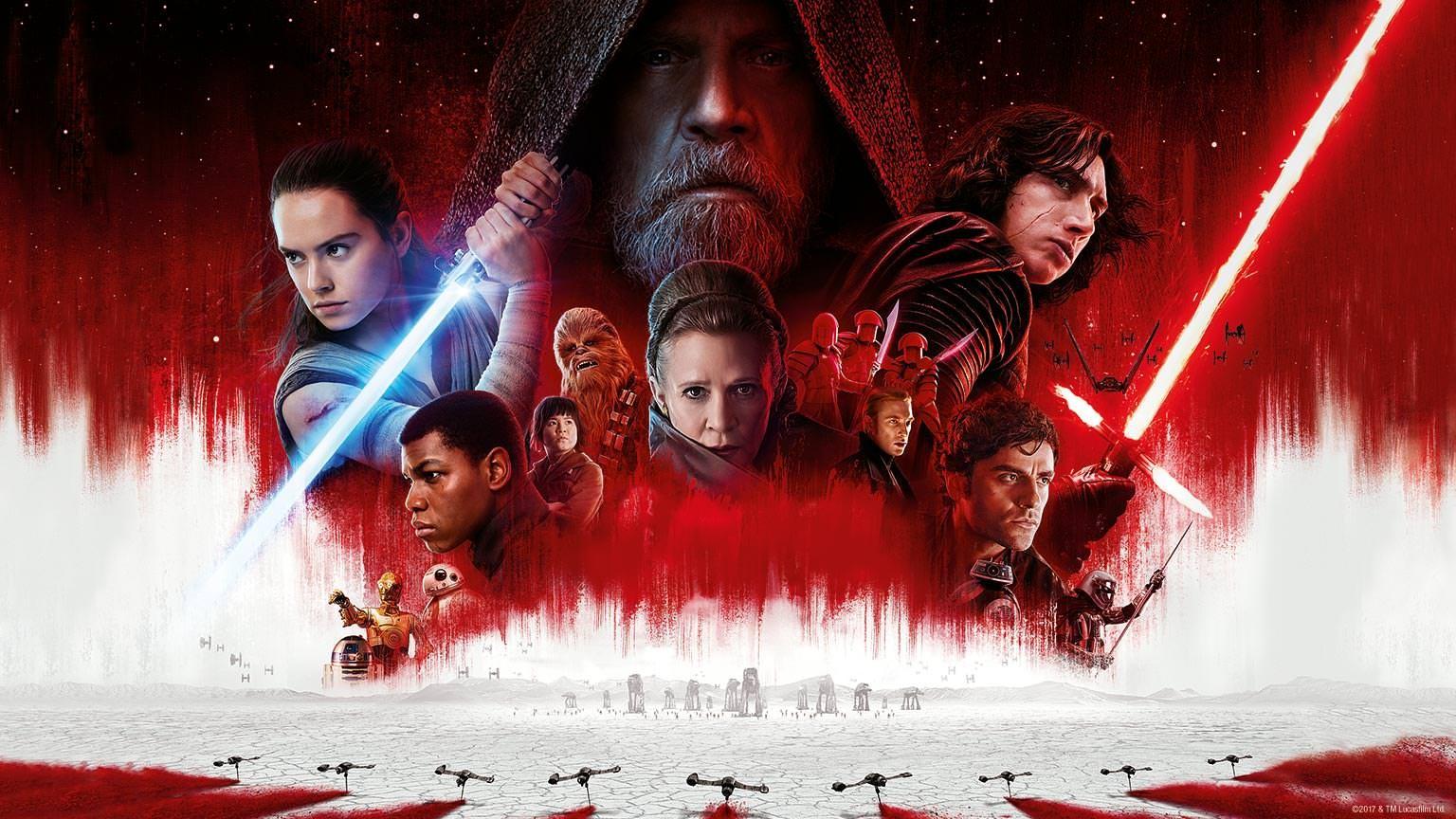 Pôster de Os últimos Jedi (Foto: Divulgação)