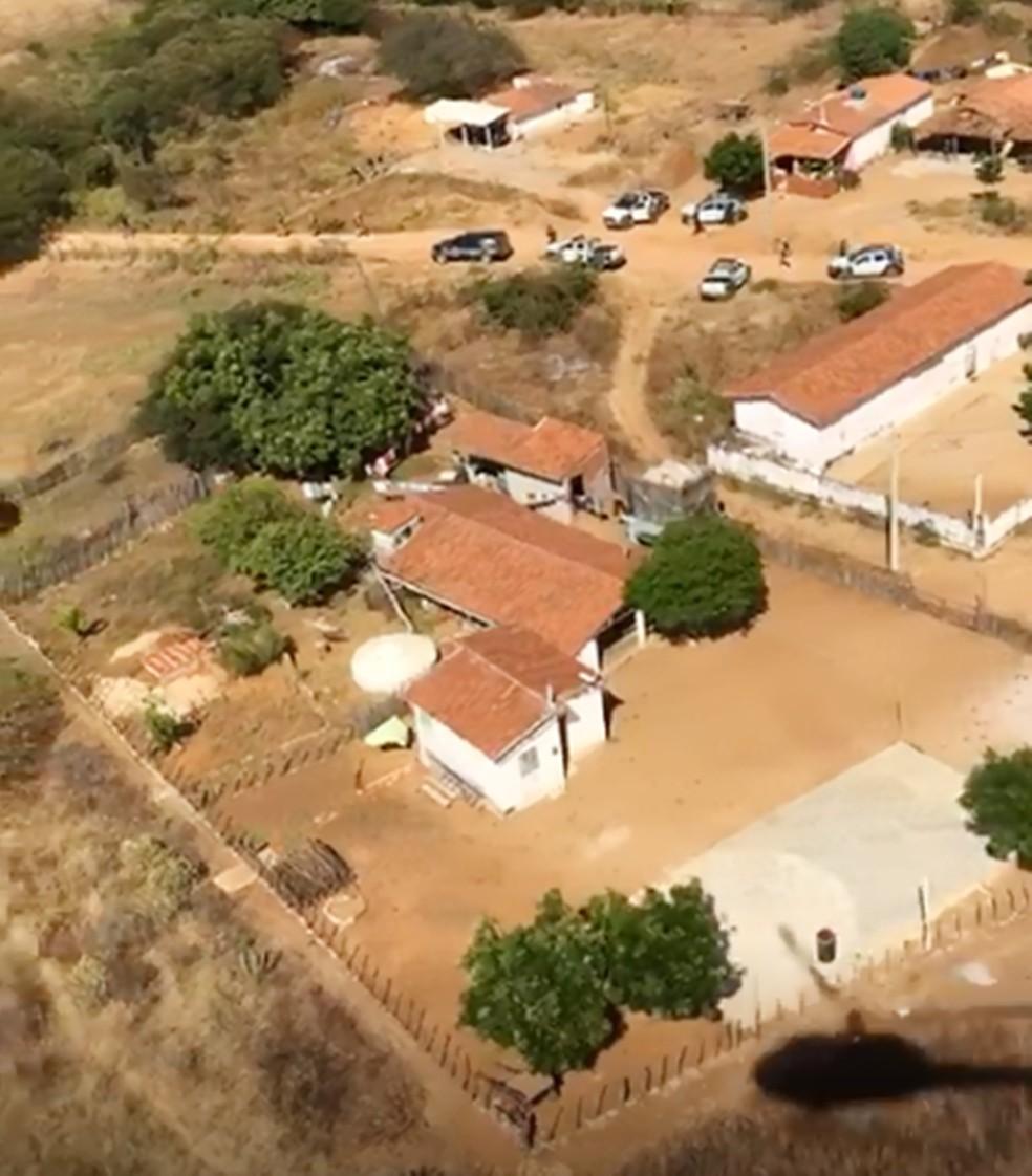 Buscas acontecem na região Oeste, entre as cidades de Caraúbas e Governador Dix-Sept Rosado (Foto: PM/Divulgação)