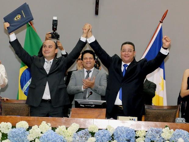 Sandoval Cardoso foi eleito governador do Tocantins (Foto: Marcio Vieira/ATN)