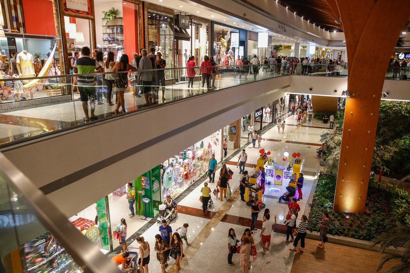 a12ab0348 Vendas tiveram alta de 9,8% no mês sobre o mesmo período do ano passado.  Shopping Fortaleza Ceará JL Rosa/G1 As vendas em shopping centers do Brasil em  maio ...