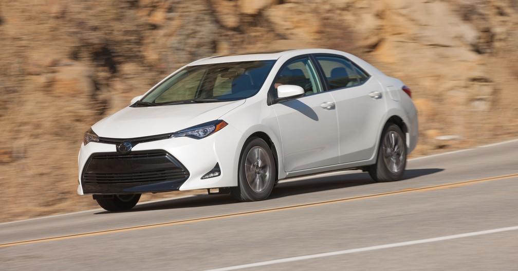 Toyota Corolla Segue O Modelo Mais