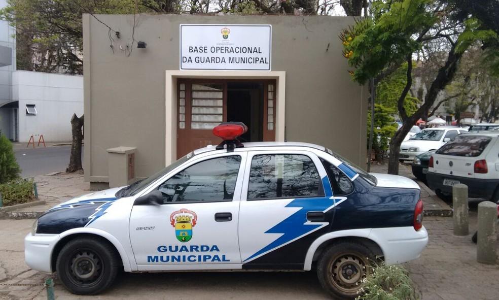 Guarda Municipal auxiliará as forças estaduais de segurança — Foto: Rafaella Fraga/G1