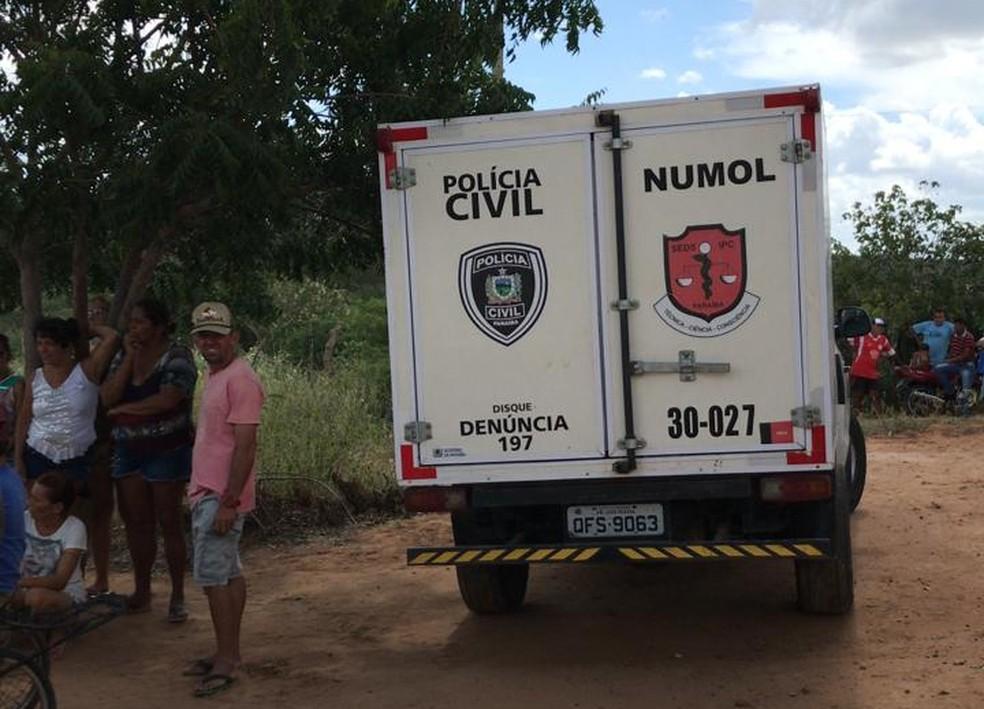 Mulher foi estuprada e mãe dela foi morta a facadas em sítio de Sossego, no Curimataú da Paraíba — Foto: Polícia Civil/Divulgação