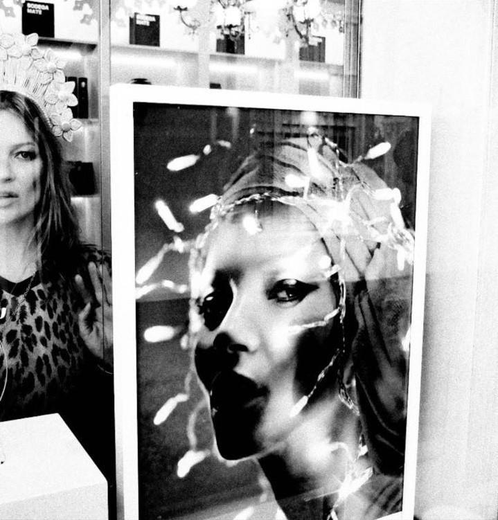 Kate Moss no Peru (Foto: Nikolai von Bismarck)