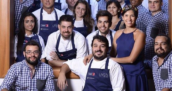 Rafa Costa e Silva (centro) e sua equipe do Lasai  (Foto: Divulgação)