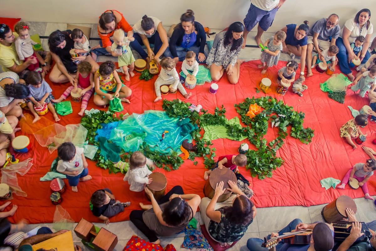 Programação especial para bebês é destaque do teatro Café Pequeno em novembro