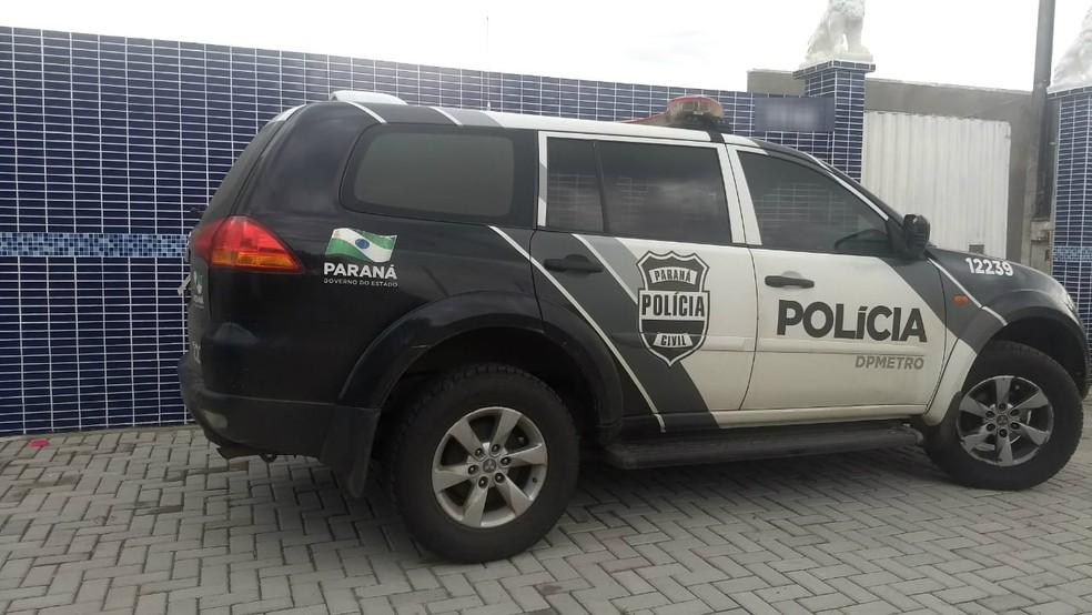 Suspeito de matar o jogador Daniel foi preso, em casa, na manhã desta quinta-feira (1º) — Foto: Vanessa Rumor/RPC