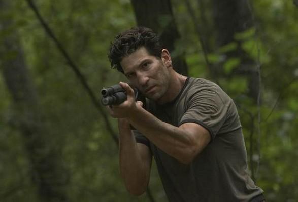 O ator Jon Bernthal em cena de The Walking Dead (Foto: Reprodução)