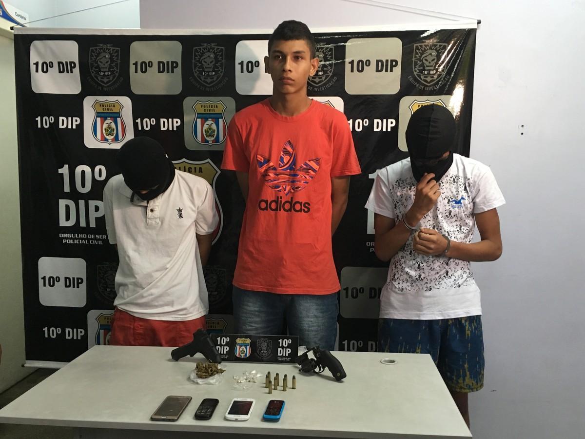 Jovem é preso e dois adolescentes são apreendidos suspeitos de roubo a prédio de conselho tutelar em Manaus