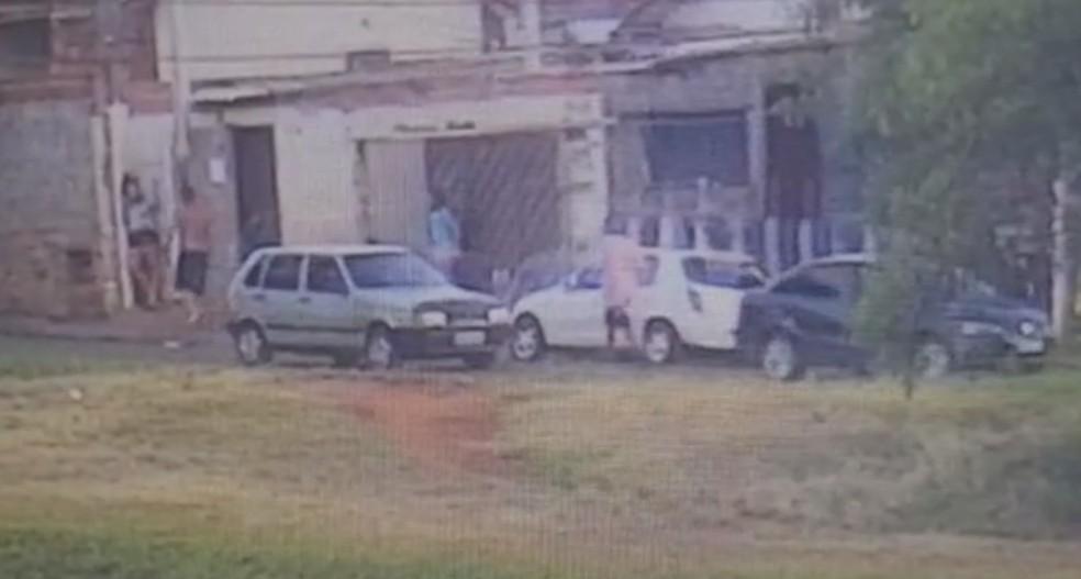 Ponto no bairro Cecap funcionava como drive-thru do tráfico de Lençóis Paulista — Foto: Polícia Civil/Divulgação