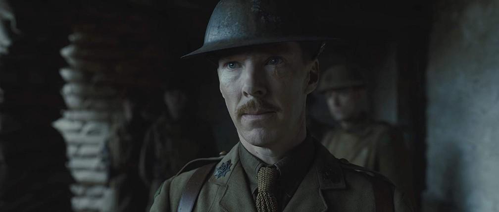 Benedict Cumberbatch em cena de '1917' — Foto: Divulgação