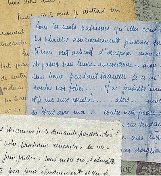 Trechos das cartas originais (Foto: Divulgação | Versilio/Divulgação)