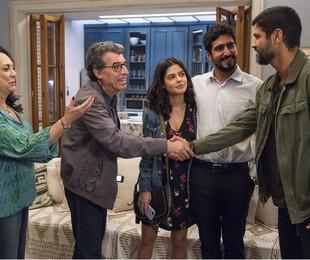 Cena de 'Órfãos da terra' | TV Globo/Estevam Avellar