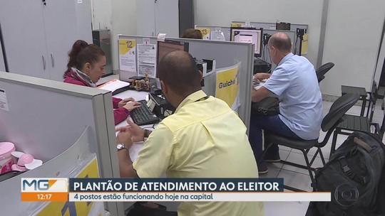 TRE-MG abre postos neste fim de semana para atender eleitores