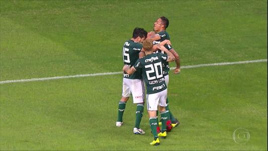 Palmeiras empata com o Bahia em Salvador