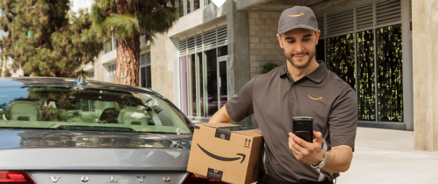 Amazon lança serviço de entregas que vai direto para o porta-malas do seu carro (Foto: Divulgação)